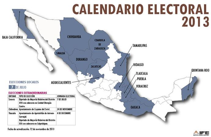 Calendario Electoral 2013