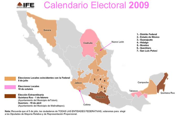 ISU_Calendario_Electoral_2009-imagen