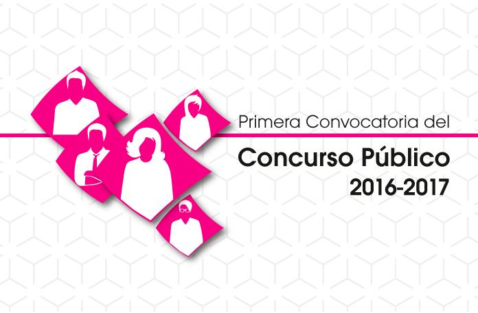 Concurso Público 2016-2017 del Sistema INE