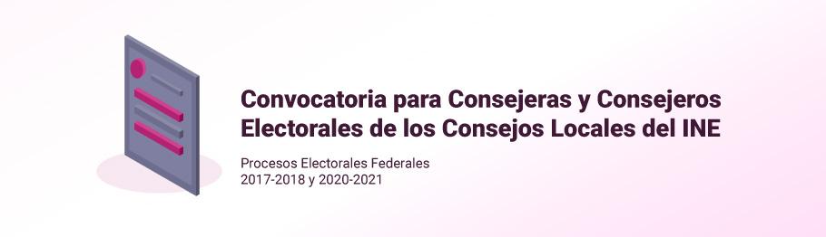 convocatoria consejero electoral