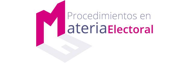 Procedimientos Materia Electoral