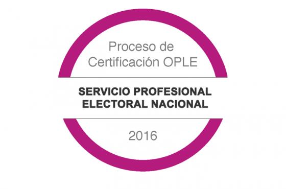 Proceso de Certificación OPLE