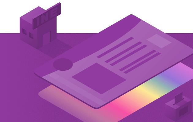 editable_Credencial para votar para personas LGBTTTI