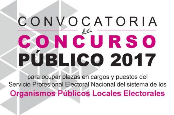 Convocatoria del Concurso Público Sistema OPLE 2017