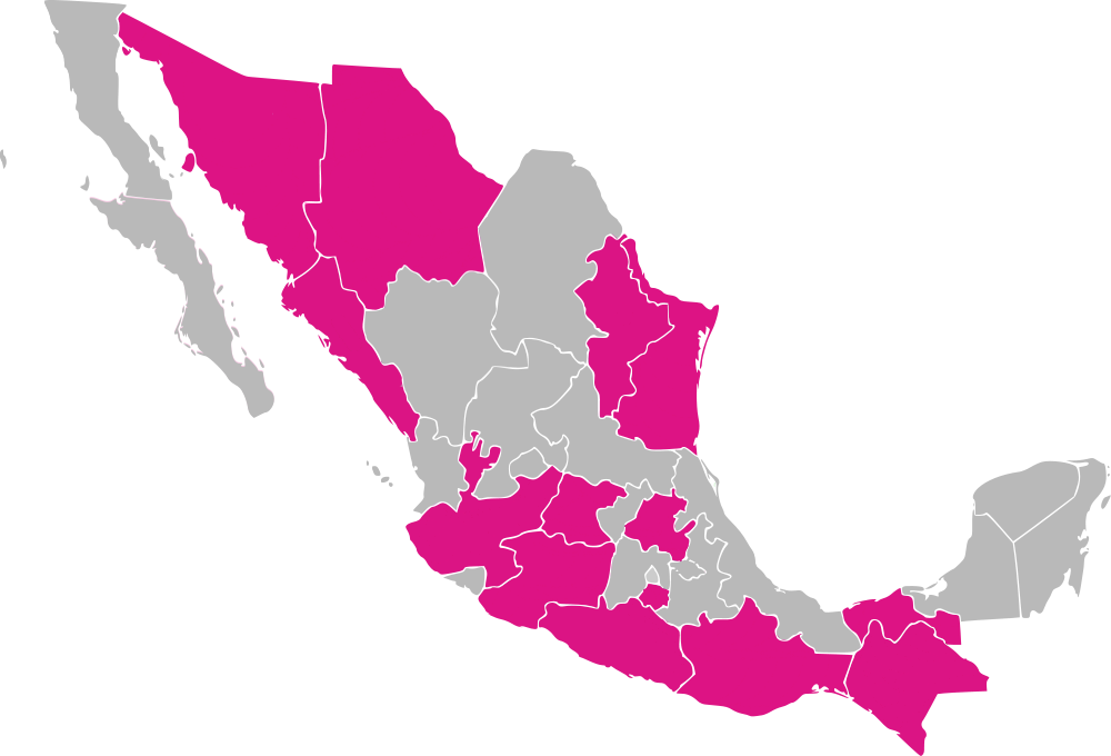MAPA Dipfed Candidaturas independientes
