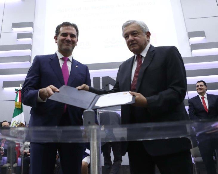 El INE declara la victoria de López Obrador