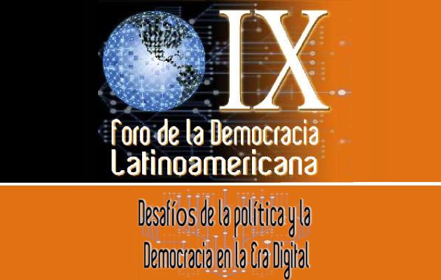 IX Foro de la Democracia