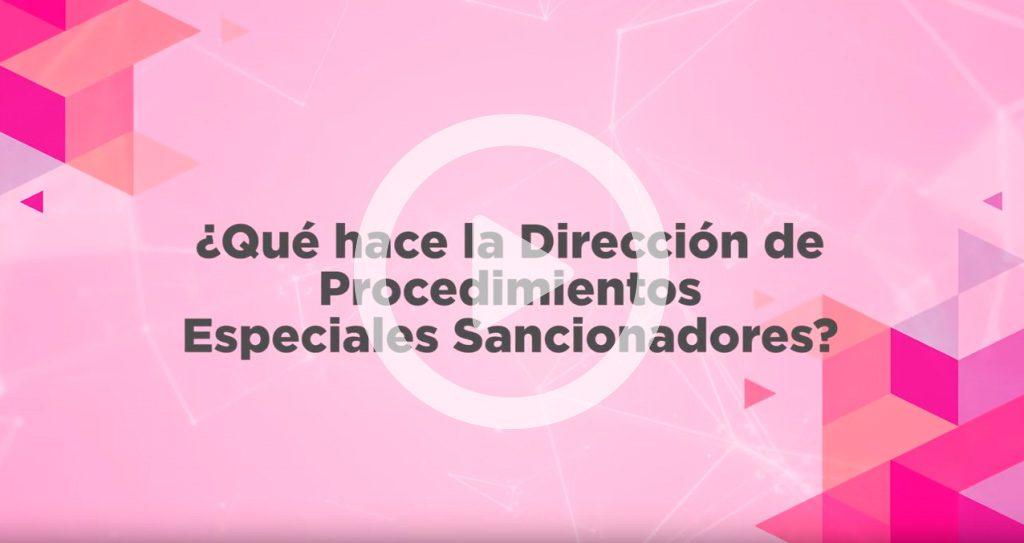 Dirección de Procedimientos Especiales Sancionadores
