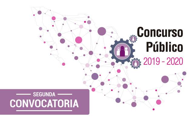 Segunda Convocatoria del Concurso Público 2019-2020, para ocupar cargos y puestos del Servicio Profesional Electoral Nacional