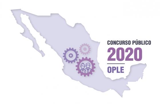 Concurso Público 2020 de los Organismos Públicos Locales OPL