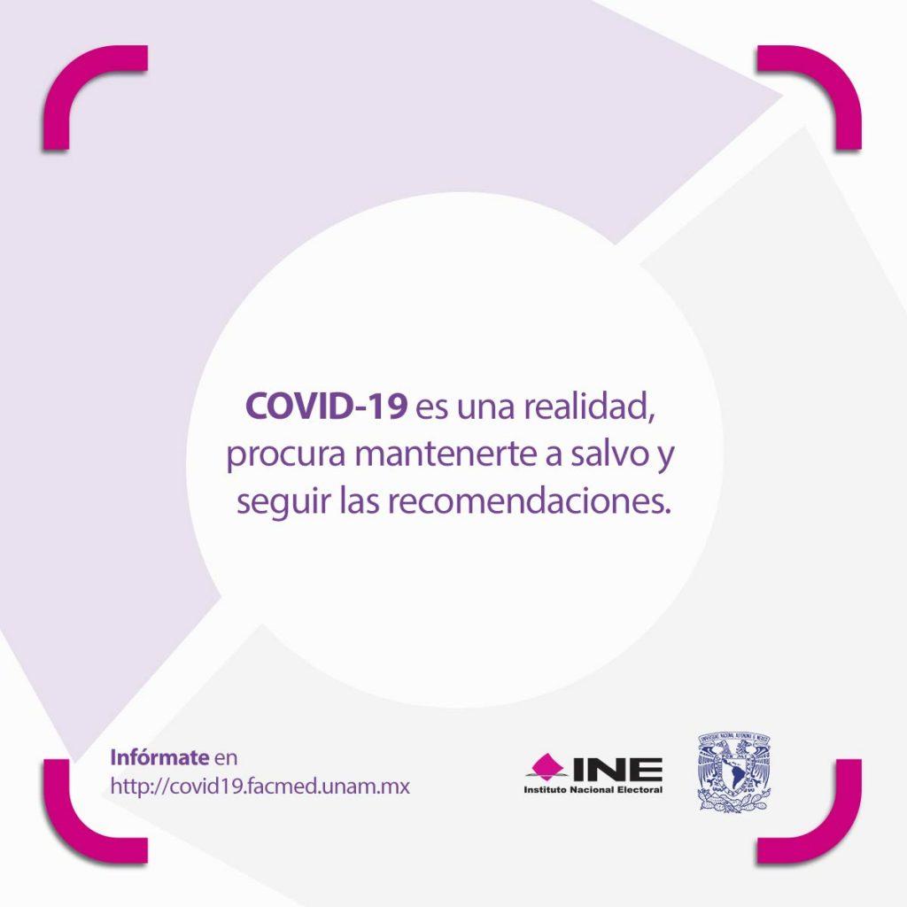 Covid-19 es una realidad