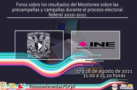 Resultados del Monitoreo en precampañas y campañas electorales en espacios noticiosos 2021